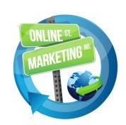streets signs reflecting small biz online marketing solutions