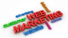 web marketing success comes from one page ads on high ranking site
