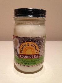Wholesale coconut oil by Health and Vitality in a 16oz size