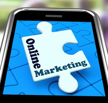 mobile phone reflecting effective internet advertising