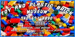 The toy and plastic brick museum