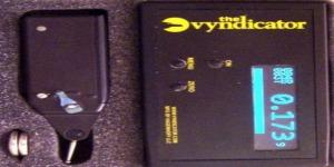 The Vyndicator wireless remote